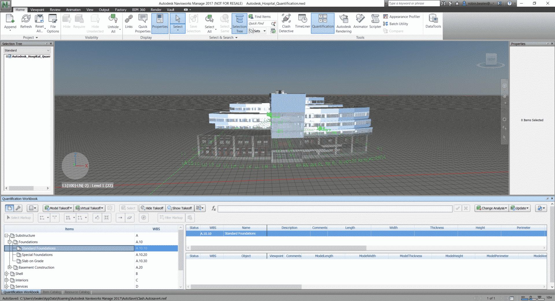 Autodesk Navisworks Controlla Il Progetto Bim Mum